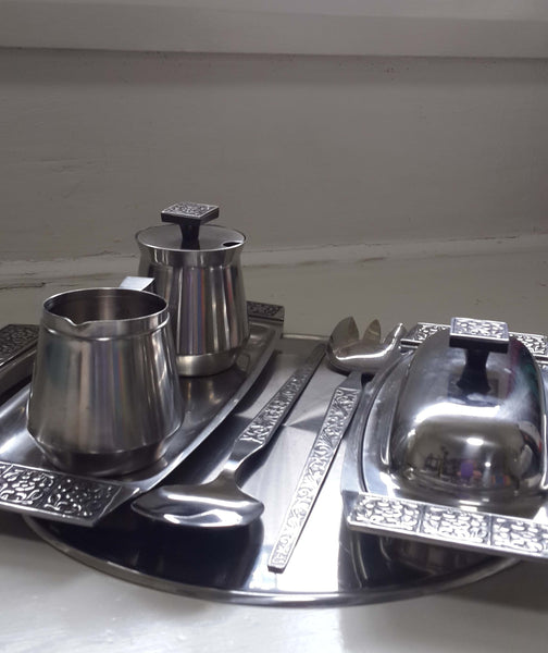 Vintage Wiltshire Stainless Serving Set
