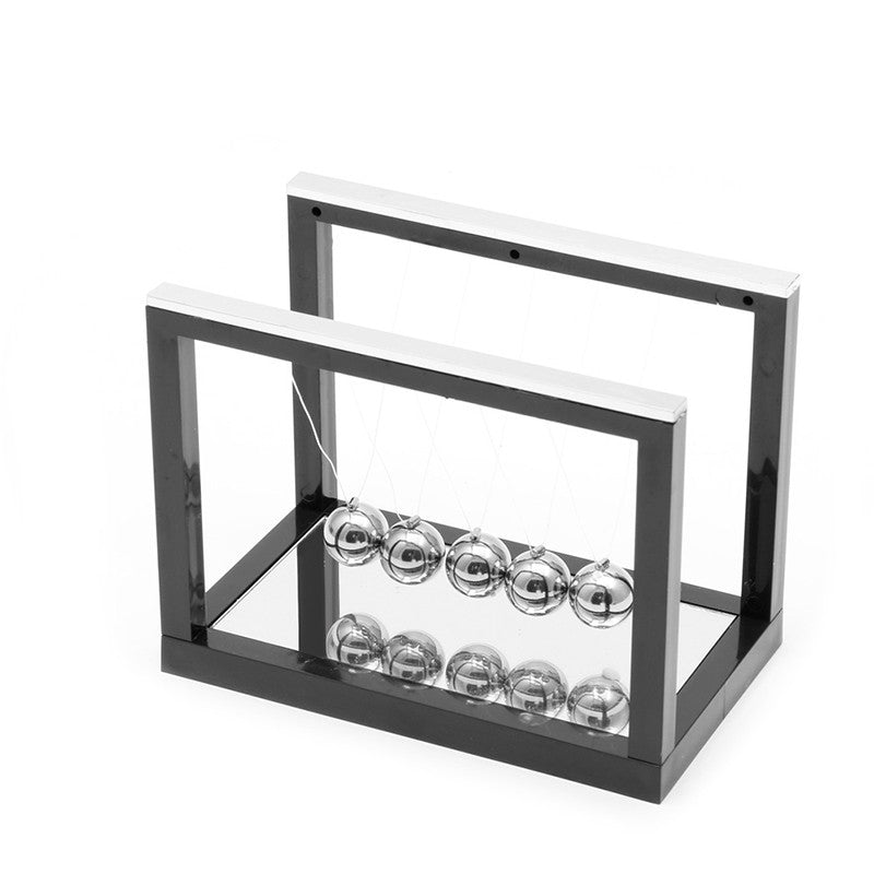 2016  Development Educational Desk Newtons Cradle Steel Balance Ball Physics Science Pendulum
