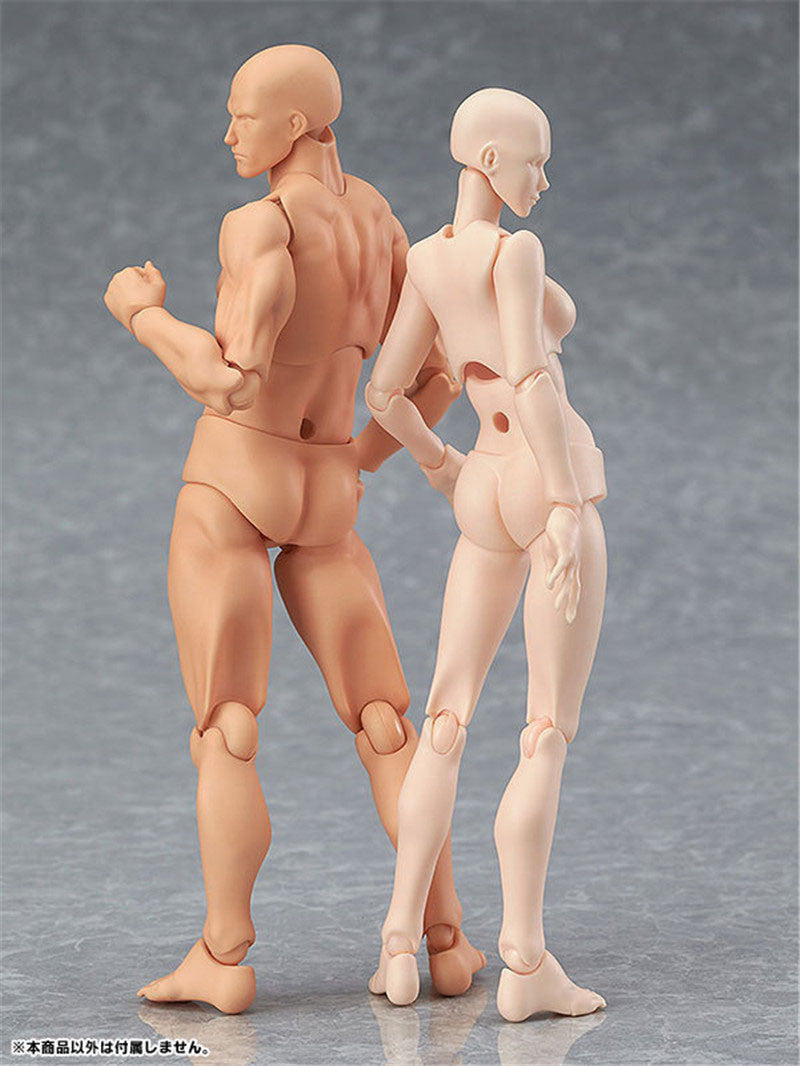 Doub K Action Figure  Artist Movable Limbs Male Female 13cm  Figures