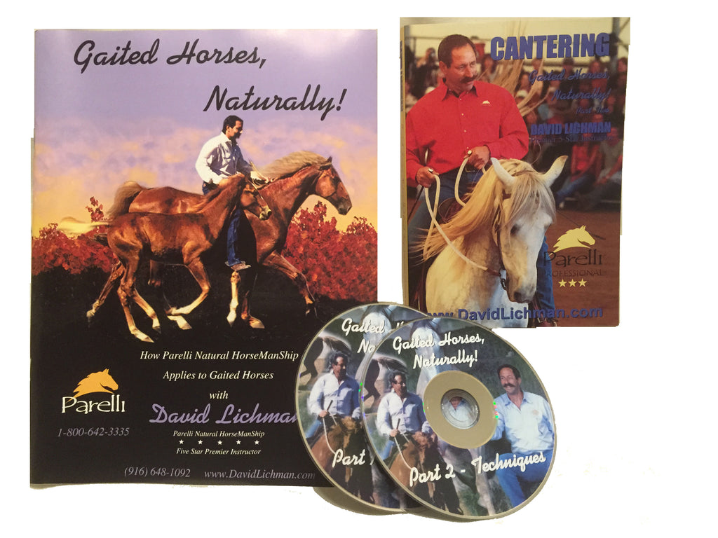 Gaited Horses, Naturally COMBO Part 1 & 2