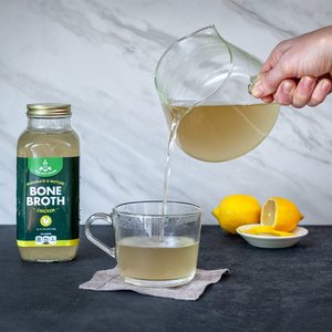 Healing & Nourishing - Lemon Ginger with Chicken Bone Broth