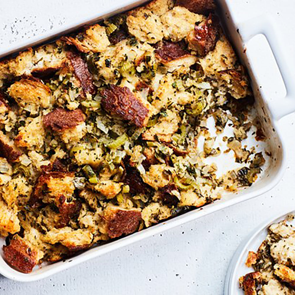 Simple Is Best: Thanksgiving Stuffing