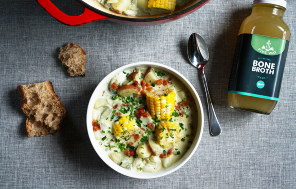 Fish Broth Chowder