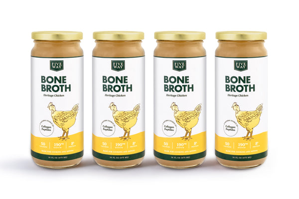 Chicken Bone Broth - 4 Pack