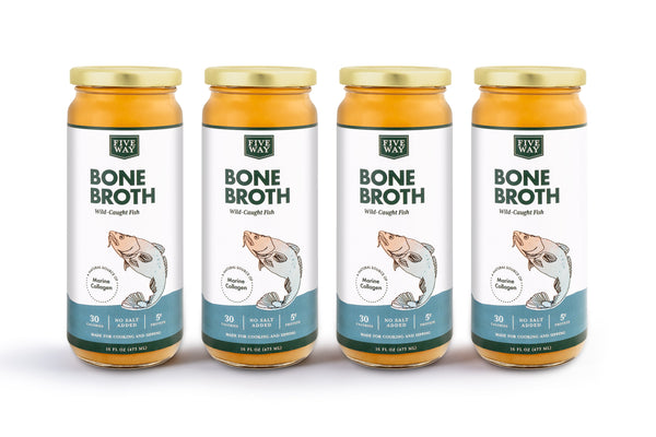 Fish Bone Broth - 4 Pack