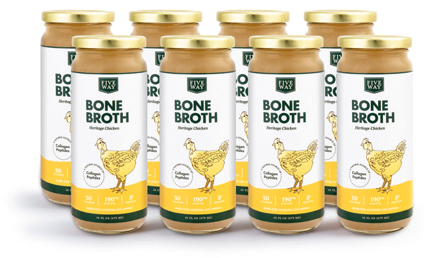 Chicken Bone Broth - 8 Pack