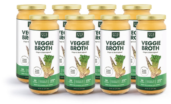 Veggie Broth - 8 Pack