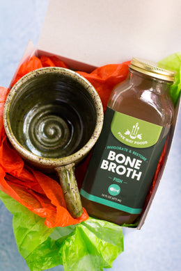 Gift Set - Bone Broth and Ceramic Mug