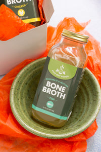 Gift Set - Bone Broth and Ceramic Bowl