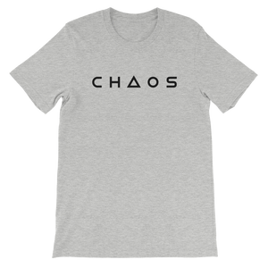 CHAOS TEE - ATHLETIC HEATHER