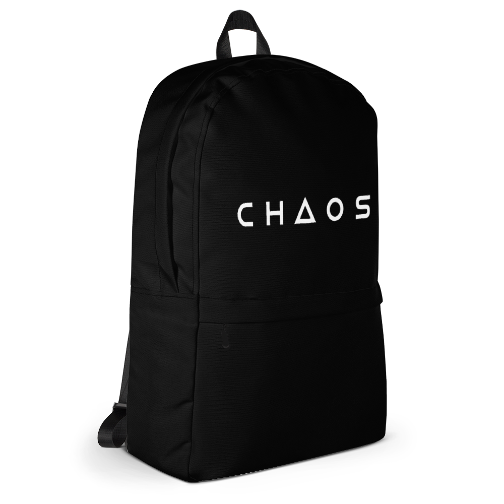 CHAOS BACKPACK - BLACK