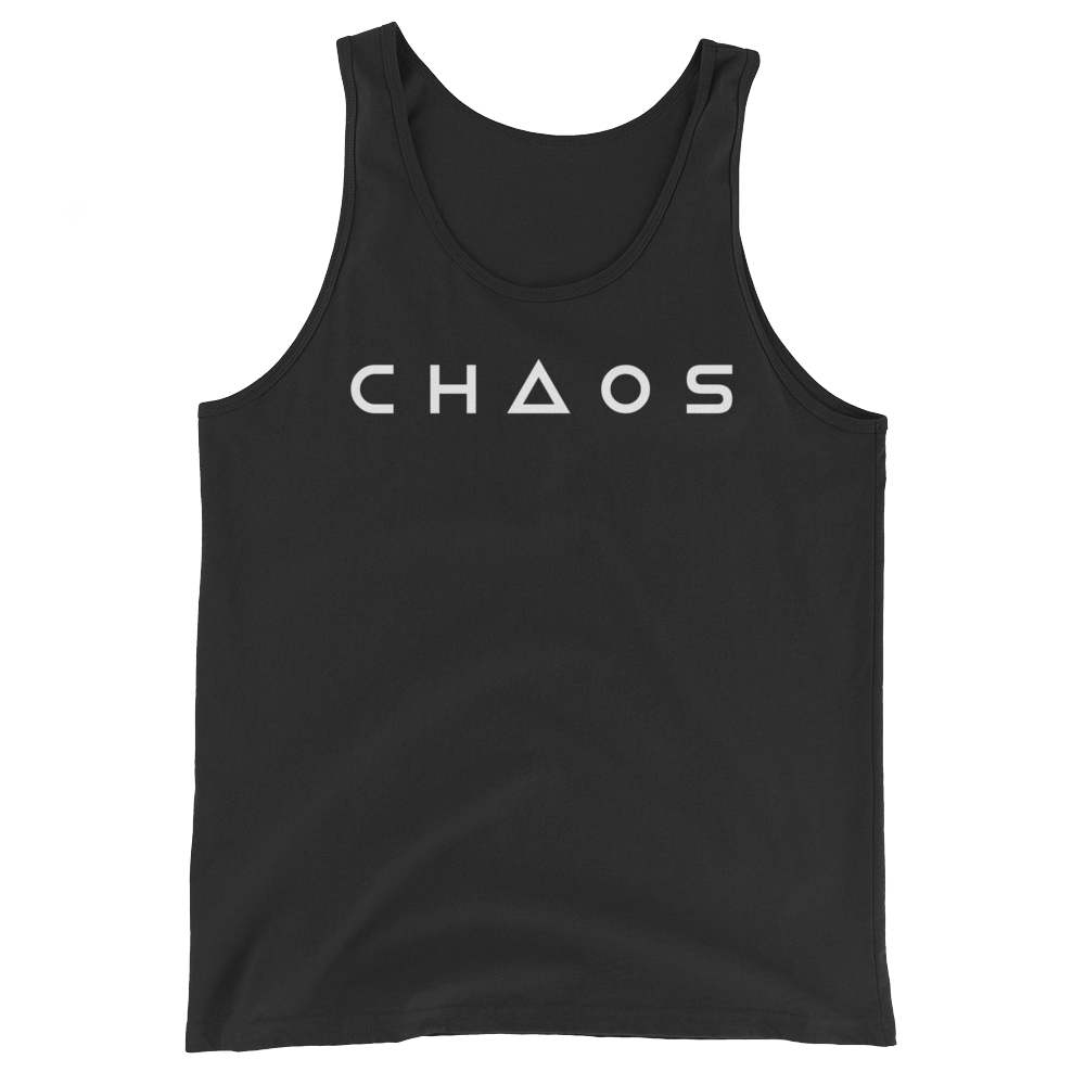 CHAOS TANK TOP - BLACK