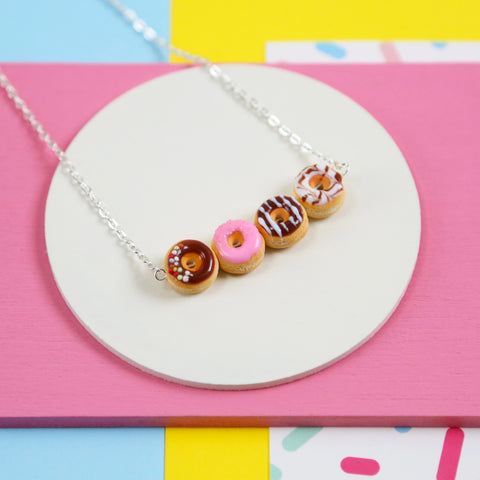 Iced Donuts necklace
