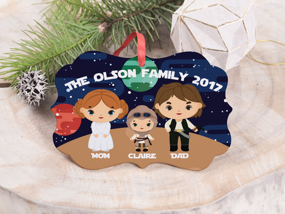Family Character Ornaments