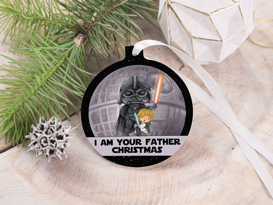 "Ornament - ""I am your Father Christmas"""