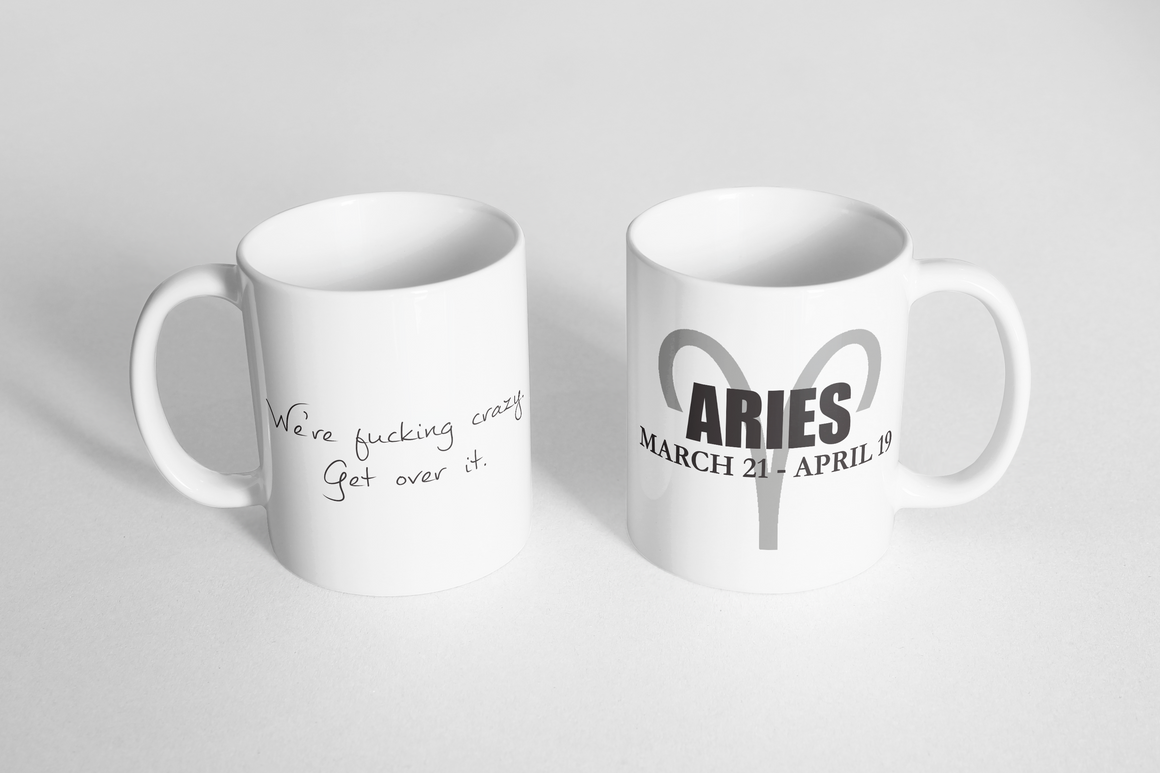 "Mug - ""Horoscope: Aries"""