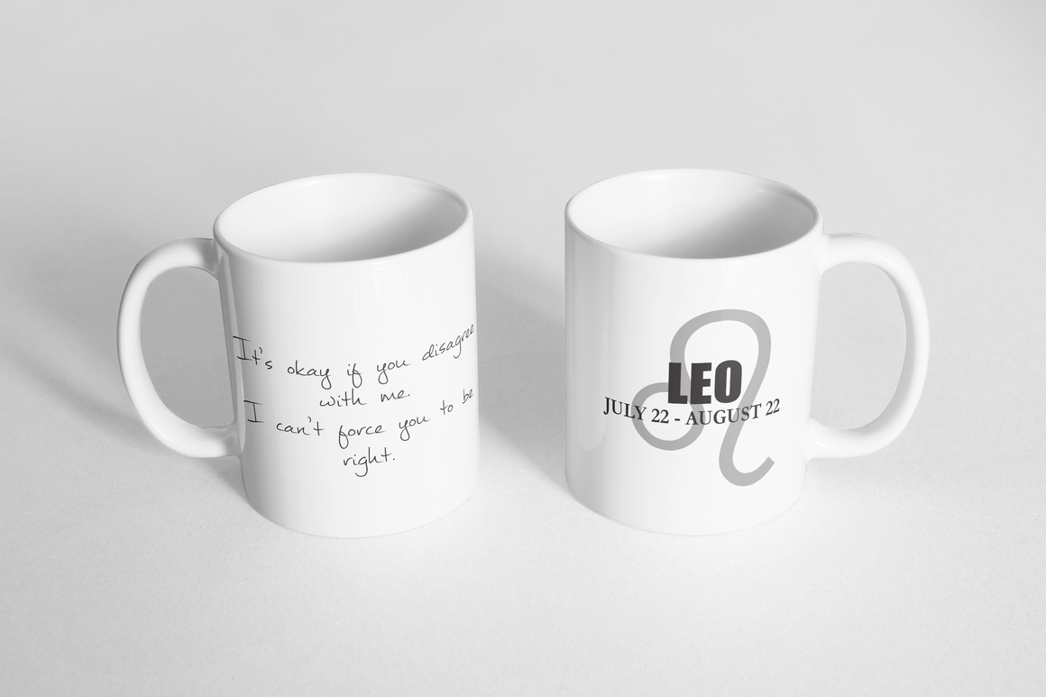 "Mug - ""Horoscope: Leo"""