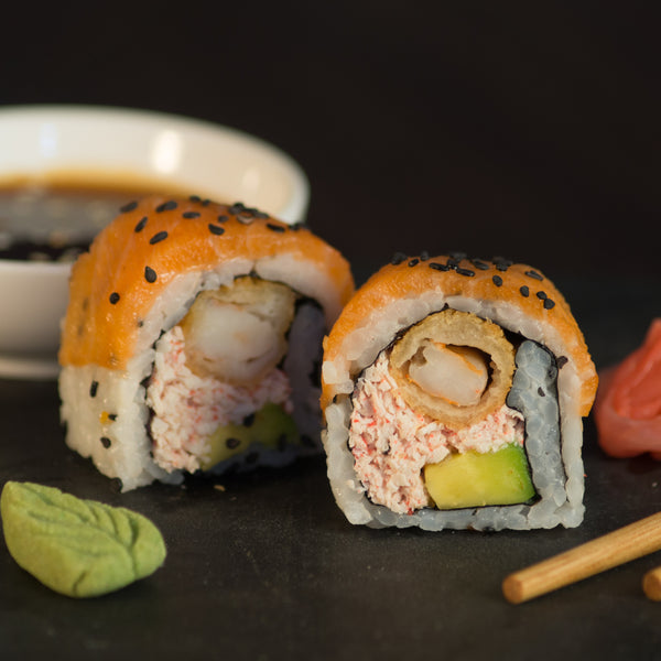 Salmon Ebi Roll