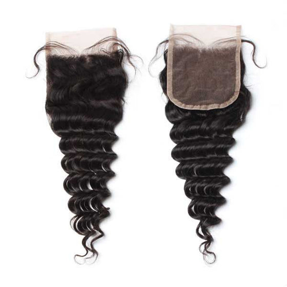 Luxury 10A Mink Deep Wave Lace Closure