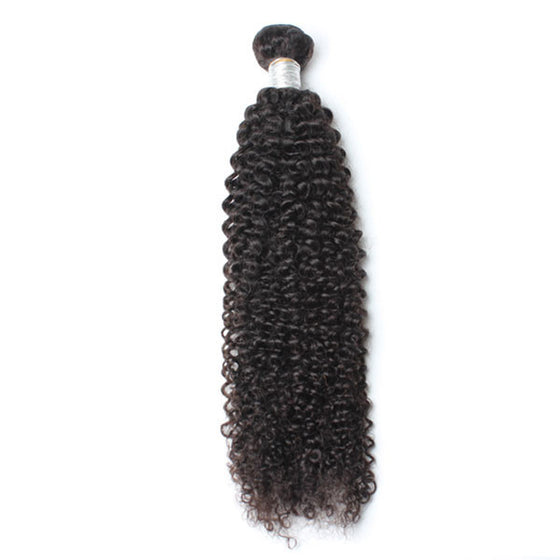 Luxury 10A Mink Kinky Curly Hair 1 Bundle