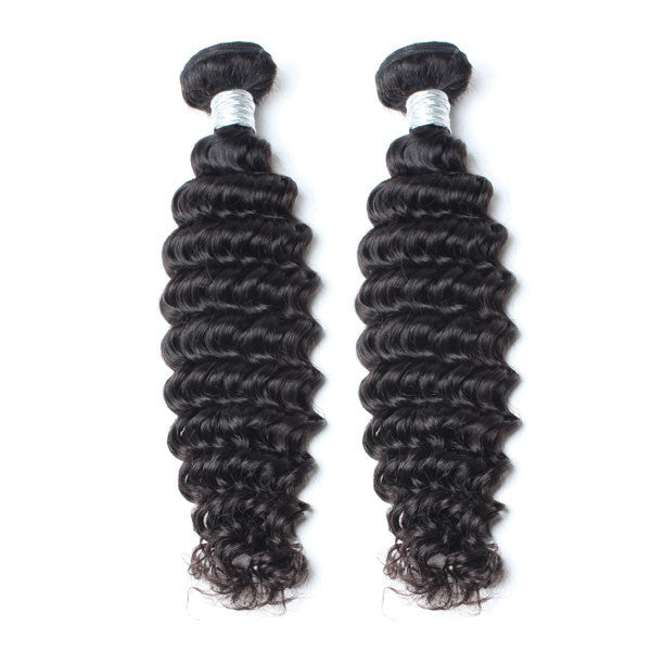 Luxury 10A Mink Deep Wave Hair 2 Bundles