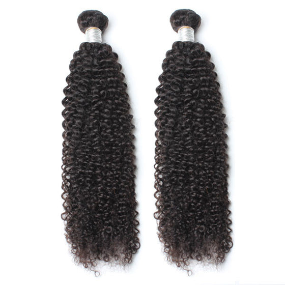 Luxury 10A Mink Kinky Curly Hair 2 Bundles