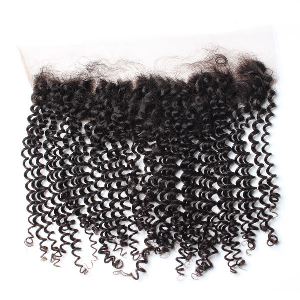 Luxury 10A Mink Kinky Curly Lace Frontal