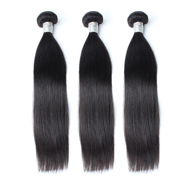 Luxury 10A Mink Straight Hair 3 Bundles