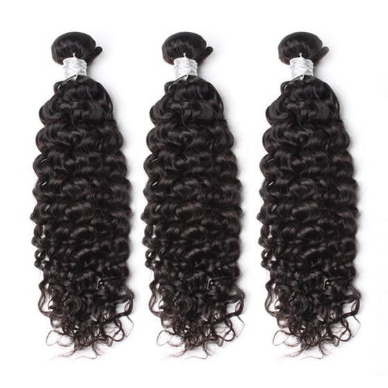 Luxury 10A Mink Deep Curly Hair 3 Bundles