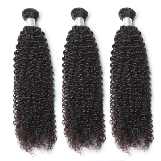 Luxury 10A Mink Kinky Curly Hair 3 Bundles