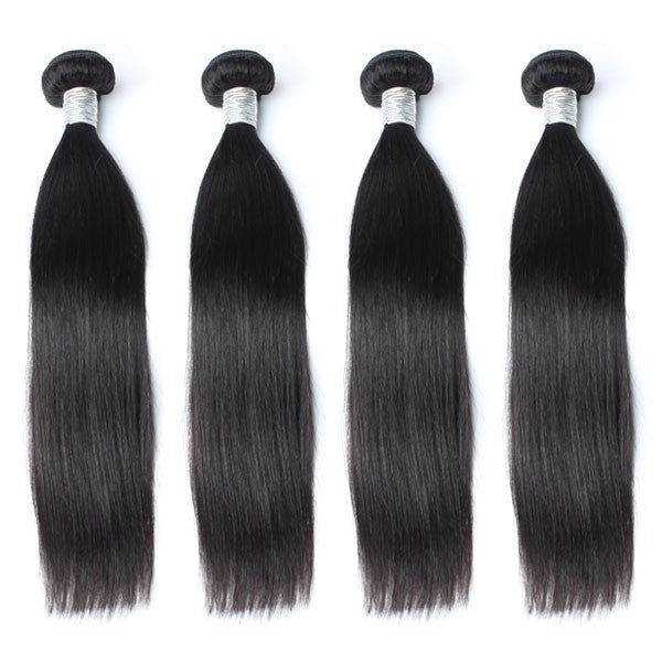 Luxury 10A Mink Straight Hair 4 Bundles