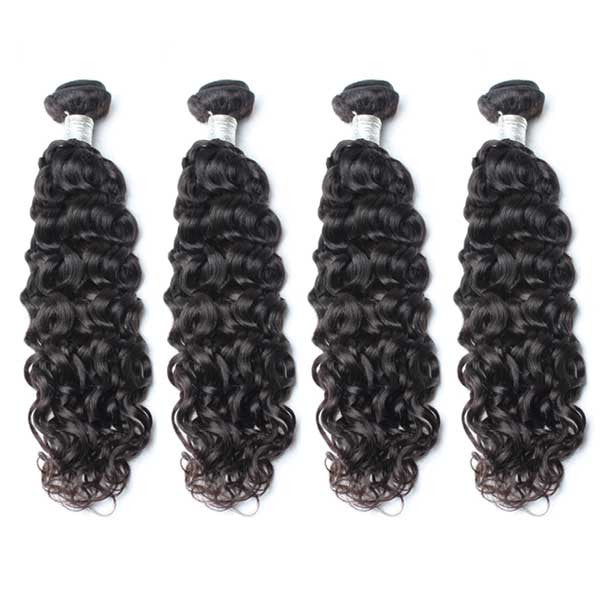 Luxury 10A Mink Natural Wave Hair 4 Bundles