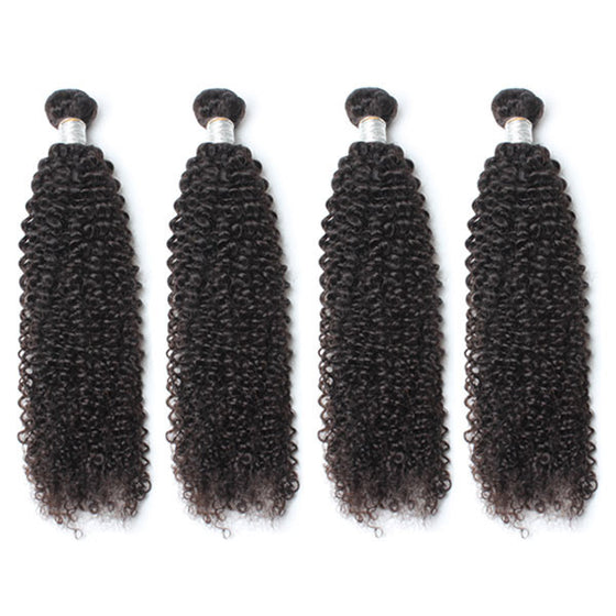 Luxury 10A Mink Kinky Curly Hair 4 Bundles
