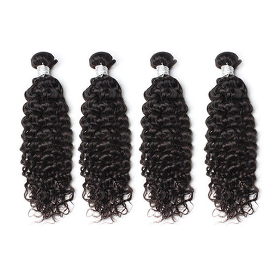 Luxury 10A Mink Deep Curly Hair 4 Bundles