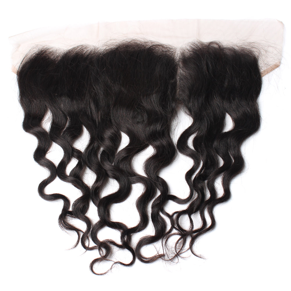 Luxury 10A Mink Natural Wave Lace Frontal