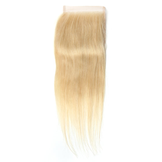 Luxury 10A 613 Blonde Straight Lace Closure
