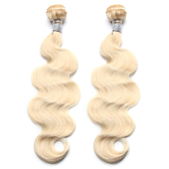Luxury 10A 613 Blonde Body Wave Hair 2 Bundles