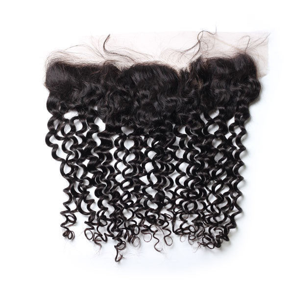 Luxury 10A Mink Deep Curly Lace Frontal