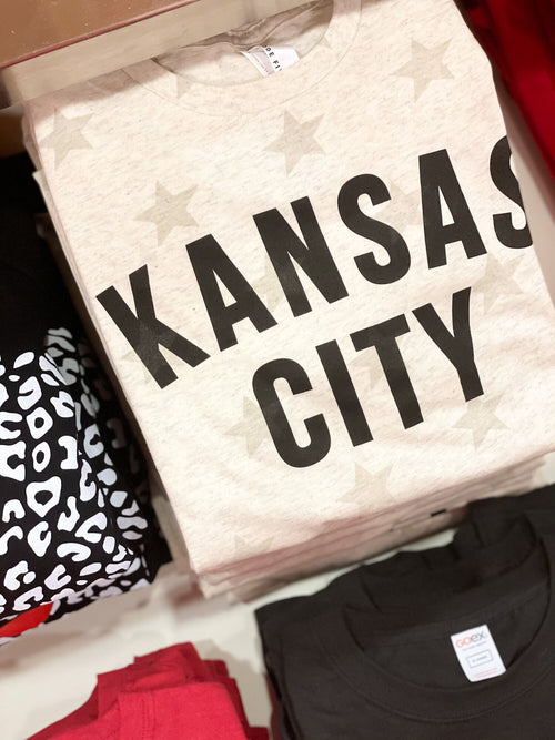 White Stars Kansas City T-shirt