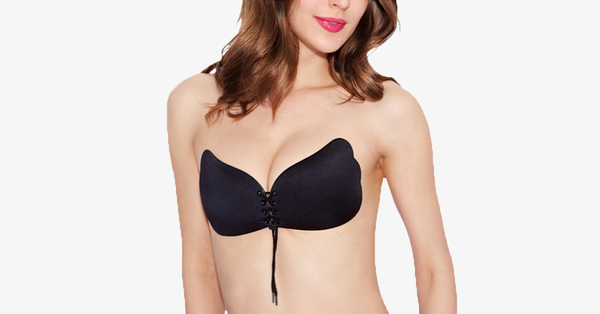 Self Adhesive Strapless Push Up Bra
