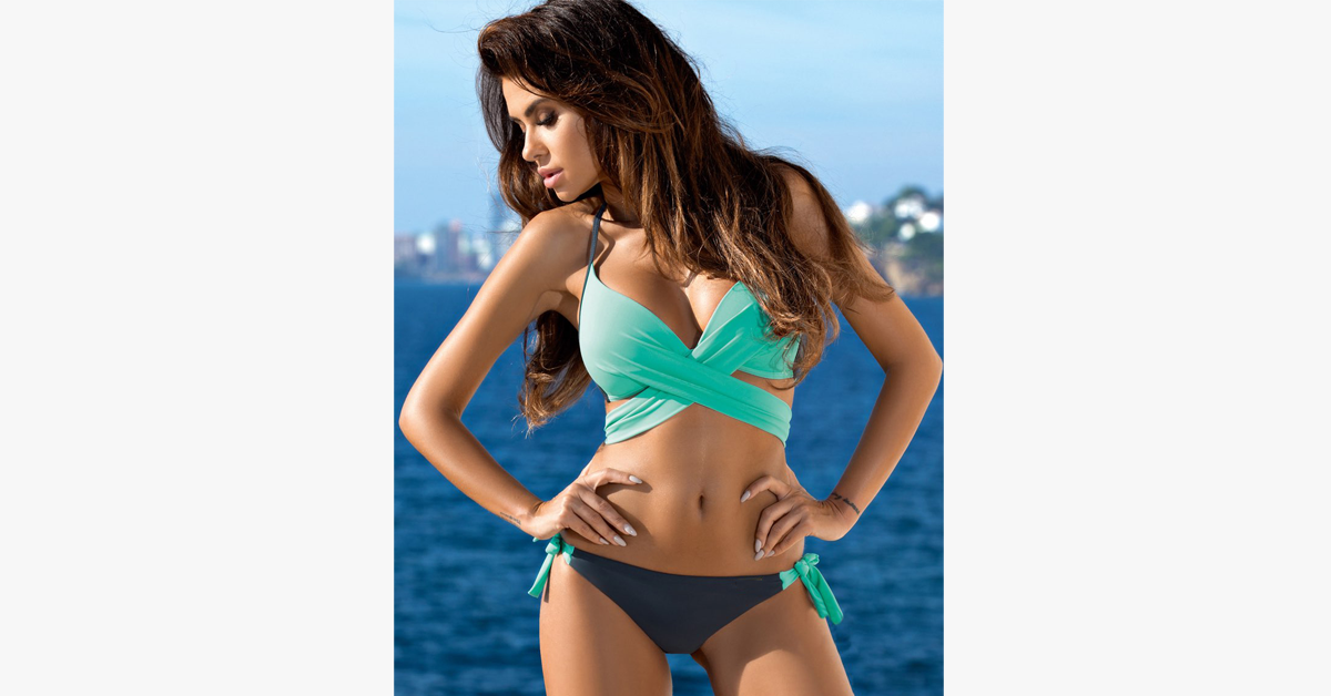 The Secret Push Up Wrap Bikini