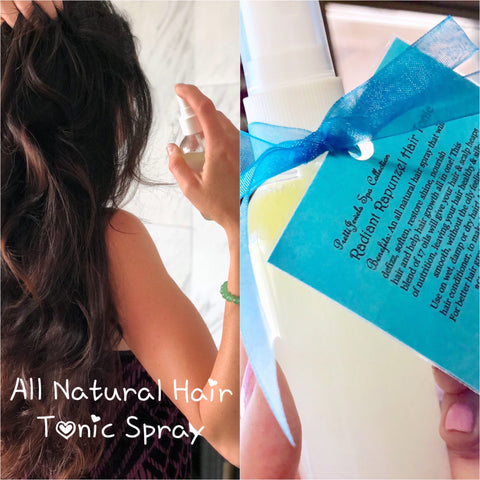 All Natural Radiant Rapunzel Hair Tonic