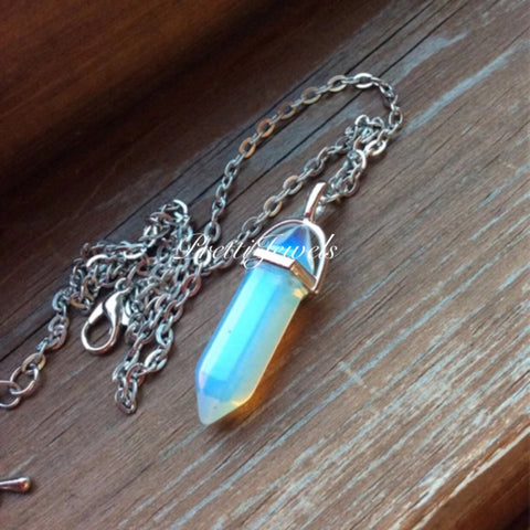 Opalite Gemstone Necklace