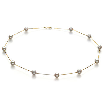 671313500bb8e 6-7mm AA Quality Japanese Akoya Cultured Pearl Necklace in Tin Cup White