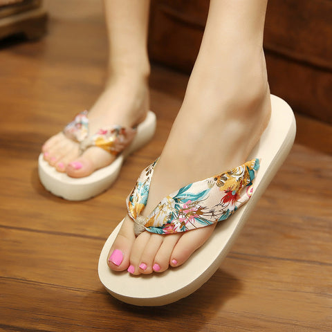 Woman flip flop Summer Plus Size shoes Beach Slippers