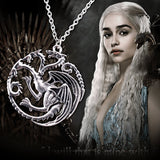 The New! Song of Ice and Fire Power of Fire Dragon Necklace High Quality