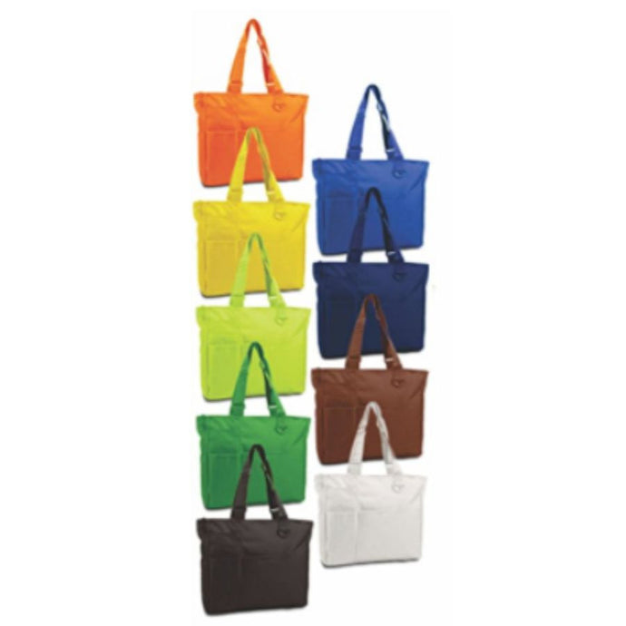 The Spoiled Office Multi Pocket Zipper Tote Bag