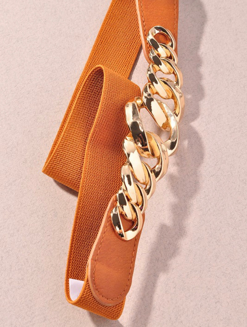 Chain camel belt