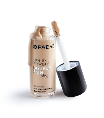 Liquid Powder Double Skin Aqua Foundation