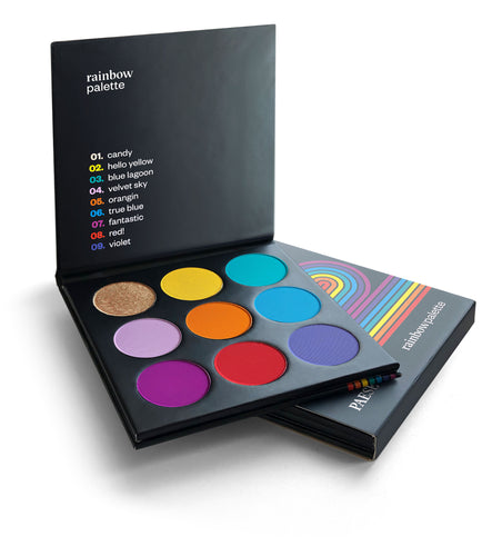 Rainbow Eyeshadow Palette
